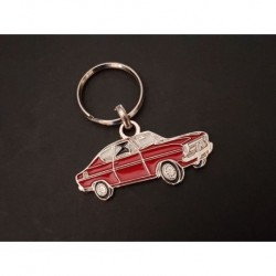 Porte-clés profil Opel Kadett B coupé (rouge)