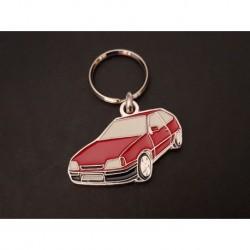Porte-clés profil Opel Kadett GSi, Kadett E GTE 16V (rouge)