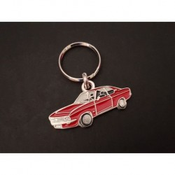 Porte-clés profil Opel Manta A (rouge)