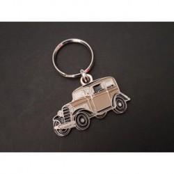 Porte-clés profil Opel P4 (marron)