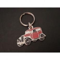 Porte-clés profil Opel P4 (rouge)