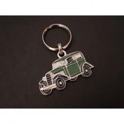 Porte-clés profil Opel P4 (vert)