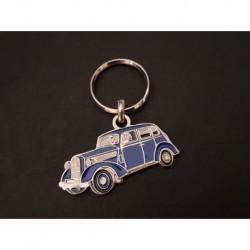 Porte-clés profil Opel Super 6 (bleu)