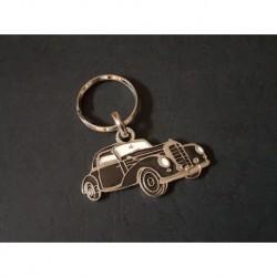 Porte-clés profil Mercedes 220 coupé, w187 (noir)
