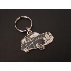 Porte-clés profil Austin A40 Somerset, Dorset (noir)