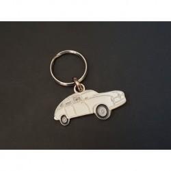 Porte-clés profil Borgward Hansa 2400, 1800 coupé (blanc)
