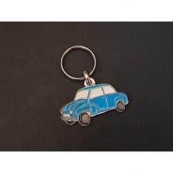 Porte-clés profil Glas Goggomobil T 250 300 400, T300 T400 (bleu)