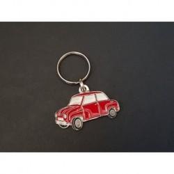 Porte-clés profil Glas Goggomobil T 250 300 400, T300 T400 (rouge)