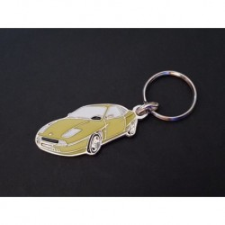 Porte-clés profil Fiat Coupé, 1.8 2.0 16V Turbo (jaune)