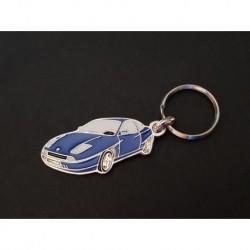 Porte-clés profil Fiat Coupé, 1.8 2.0 16V Turbo (bleu)