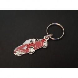 Porte-clés profil Fiat Barchetta, 1.8 16V (rouge)