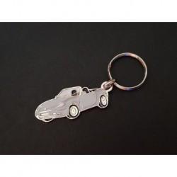Porte-clés profil Fiat Barchetta, 1.8 16V (gris)