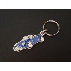 Porte-clés profil Fiat Barchetta, 1.8 16V (bleu)