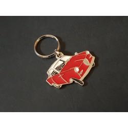 Porte-clés profil Goggomobil TS, TS250 TS300 TS400 (rouge)