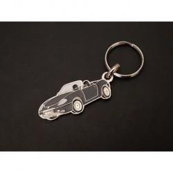 Porte-clés profil Fiat Barchetta, 1.8 16V (noir)