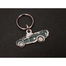 Porte-clés profil Shelby AC Cobra (vert)