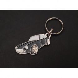 Porte-clés profil MG MGB GT, MGC GT (noir)