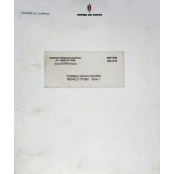 Renault Berliet TR 280 (GR 280), catalogue de pièces