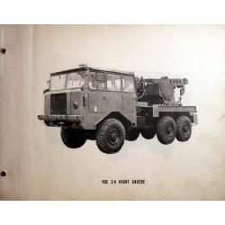 Berliet 6x6 TBU 15 – CLD, manuel de réparation