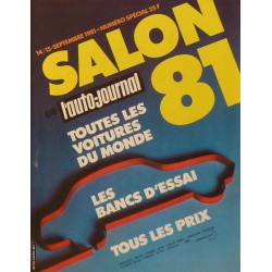 L'Auto Journal, salon 1981