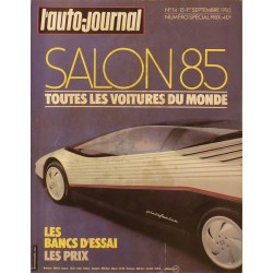 L'Auto Journal, salon 1985