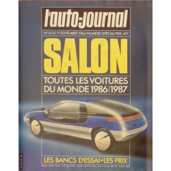 L'Auto Journal, salon 1986