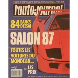 L'Auto Journal, salon 1987