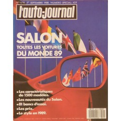 L'Auto Journal, salon 1988