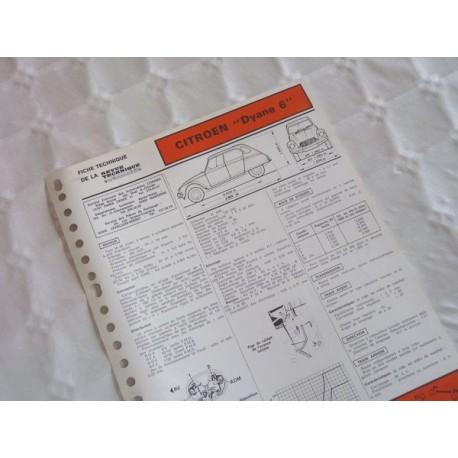 fiche technique citro n dyane 6 602 cm3 m28 3cv. Black Bedroom Furniture Sets. Home Design Ideas