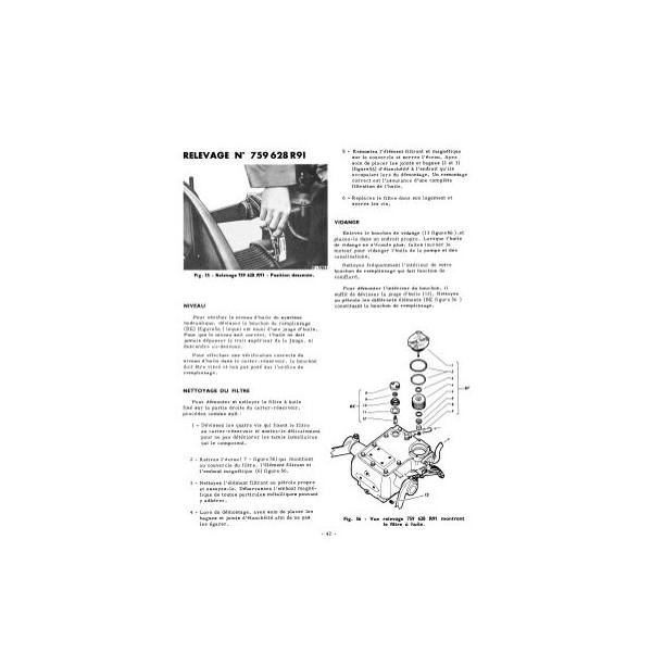notice d 39 entretien mccormick international farmall f135d diesel. Black Bedroom Furniture Sets. Home Design Ideas