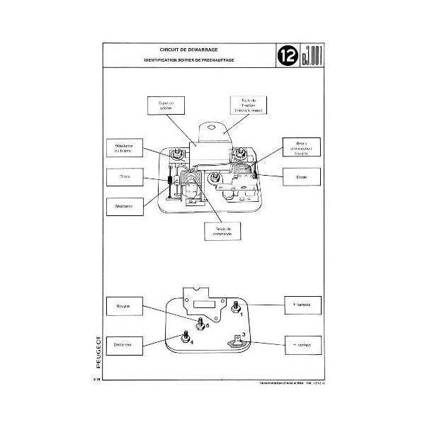manuel de r u00e9paration  u00e9lectricit u00e9 peugeot 504 essence  diesel