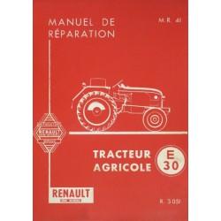 Renault E30, N31, E31, V31 (R3051), manuel de réparation