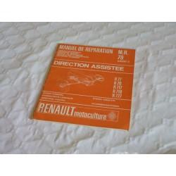 Renault Master 1 et 2, manuel de réparation original direction assistée