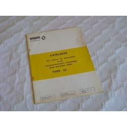 Bernard-Moteurs Diesel 21, catalogue original de pièces et réglages