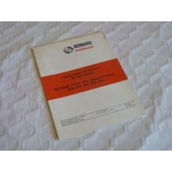 Bernard-Moteurs BDA 375, 482, 565, 605, catalogue de pièces original
