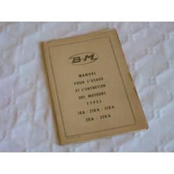Bernard-Moteurs 18A, 218A, 318A, 28A et 328A, notice d'entretien originale