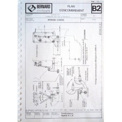 Bernard Moteurs 110, 110Ter, 610A, 810, plans d'encombrement