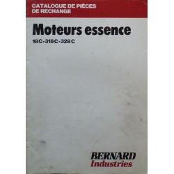 Bernard-Moteurs 18C, 318C, 328C, catalogue de pièces