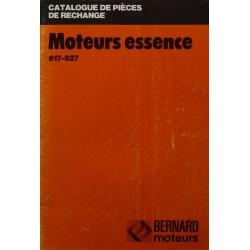 Bernard-Moteurs 617 et 627, catalogue de pièces