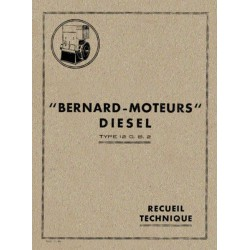 Bernard-Moteurs 12GB2, notice d'entretien