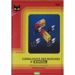 Marchal, catalogue des bougies 1984