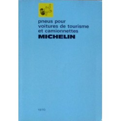 Michelin, pneus pour voitures de tourismes et camionnettes 1971