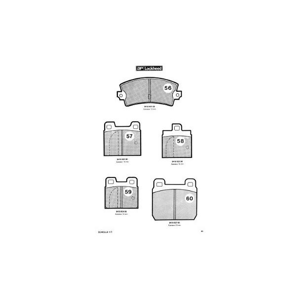 lockheed plaquettes et m choires de freins. Black Bedroom Furniture Sets. Home Design Ideas