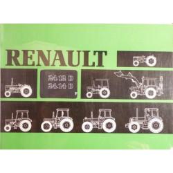 Renault 24.12D et 24.14D, notice d'utilisation