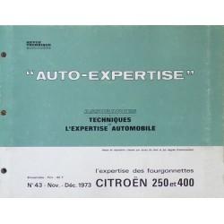 Auto Expertise Citroën 2cv et 3cv Fourgonnettes
