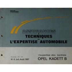 Auto Expertise Opel Kadett B