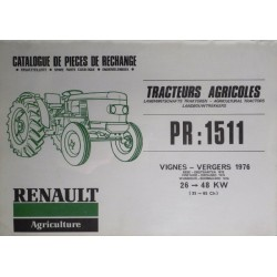 Renault 50S, 60S, 80S, 90S, 70S, 460S, 480S, 490S, catalogue de pièces