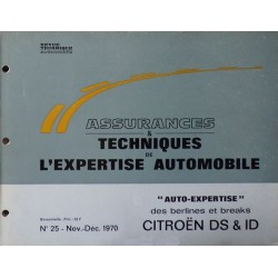 Auto Expertise Citroën DS, ID