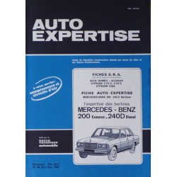 Auto Expertise Mercedes 200, 240D (w123)