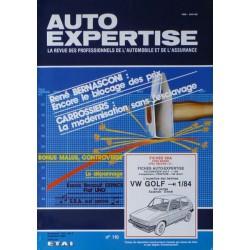 Auto Expertise Volkswagen Golf I